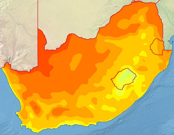 Wetter Südafrika